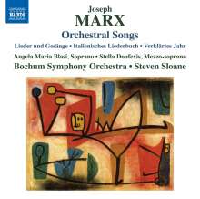 Joseph Marx (1882-1964): Orchesterlieder, CD