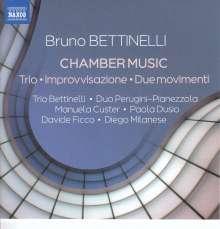 Bruno Bettinelli (1913-2004): Kammermusik, CD