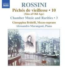 Gioacchino Rossini (1792-1868): Kammermusik & Raritäten Vol.3, CD