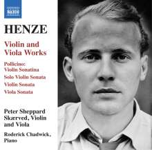 Hans Werner Henze (1926-2012): Violinsonate, CD