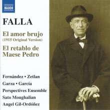 Manuel de Falla (1876-1946): El Amor Brujo, CD
