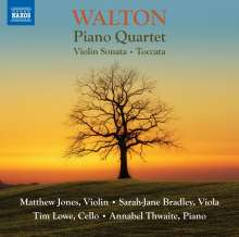 William Walton (1902-1983): Klavierquartett, CD
