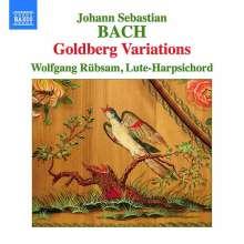 Johann Sebastian Bach (1685-1750): Goldberg-Variationen BWV 988 für Lauten-Cembalo, CD