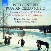 19th Century Russian Cello Music, CD