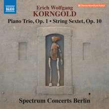 Erich Wolfgang Korngold (1897-1957): Streichsextett op.10, CD