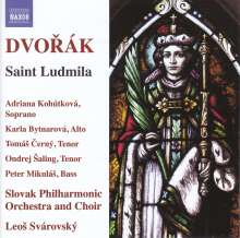 Antonin Dvorak (1841-1904): Saint Ludmila op.71 (Oratorium), 2 CDs