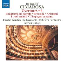 Domenico Cimarosa (1749-1801): Ouvertüren Vol.6, CD