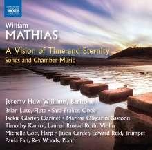 William Mathias (1934-1992): Kammermusik & Lieder, CD
