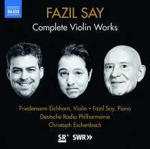 "Fazil Say (geb. 1970): Violinkonzert ""1001 Nights in the Harem"", CD"