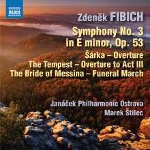 Zdenek Fibich (1850-1900): Orchesterwerke Vol.5, CD
