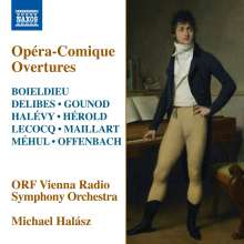 Opera-Comique Overtures, CD