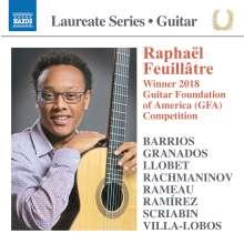 Raphael Feuillatre - Laureate Series Guitar, CD