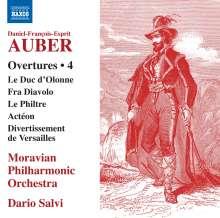 Daniel-Francois-Esprit Auber (1782-1871): Ouvertüren Vol. 4, CD