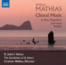 William Mathias (1934-1992): Chormusik, CD