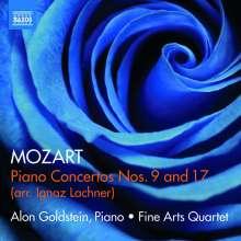 Wolfgang Amadeus Mozart (1756-1791): Klavierkonzerte Nr.9 & 17 (arr. für Klavier & Streichquintett von Ignaz Lachner), CD