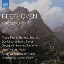 Ludwig van Beethoven (1770-1827): Folk Songs (Volkslieder), CD