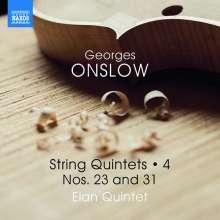 Georges Onslow (1784-1852): Streichquintette Vol.4, CD
