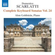 Domenico Scarlatti (1685-1757): Klaviersonaten Vol.24, CD
