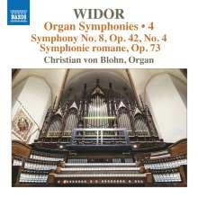 Charles-Marie Widor (1844-1937): Die Orgelsymphonien Vol.4, CD