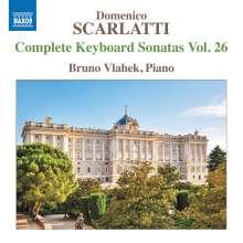 Domenico Scarlatti (1685-1757): Klaviersonaten Vol.26, CD