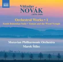 Vitezlav Novak (1870-1949): Orchesterwerke Vol.1, CD