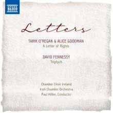 "Tarik O'Regan (geb. 1978): Kantate ""A Letter of Rights"", CD"