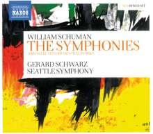William Schuman (1910-1992): Die Symphonien, 5 CDs