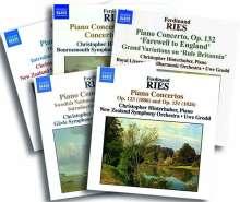 Ferdinand Ries (1784-1838): Sämtliche Klavierkonzerte (Exklusiv für jpc), 5 CDs