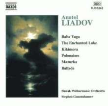 Anatoly Liadow (1855-1914): Orchesterstücke, CD