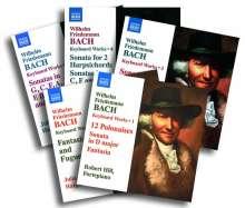 Wilhelm Friedemann Bach (1710-1784): Sämtliche Werke für Cembalo (Exklusiv für jpc), 5 CDs
