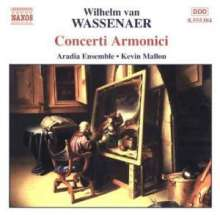 Giovanni Battista Pergolesi (1710-1736): Concerti armonici Nr.1-6 (tats.v.Wassenaer), CD