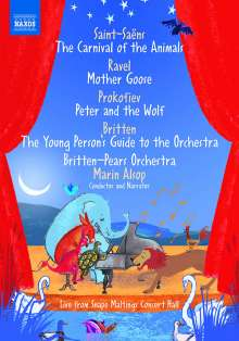 Britten-Pears Orchestra - Live from Snape Maltings Concert Hall, DVD