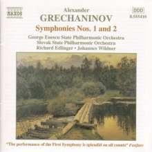 Alexander Gretschaninoff (1864-1956): Symphonien Nr.1 & 2, CD