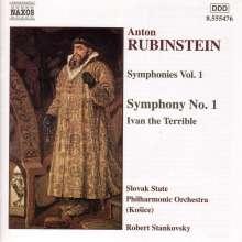 Anton Rubinstein (1829-1894): Symphonie Nr.1, CD