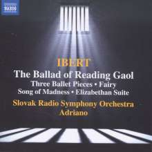 Jacques Ibert (1890-1962): La Ballade de la Geole de Reading, CD