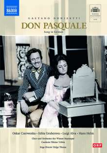 Gaetano Donizetti (1797-1848): Don Pasquale (in deutscher Sprache), DVD