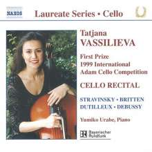 Tatjana Vassilieva - Cello Recital, CD
