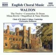 William Walton (1902-1983): Geistliche Chormusik, CD