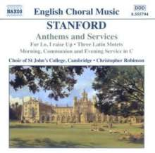 Charles Villiers Stanford (1852-1924): Anthems & Services, CD