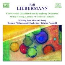 Rolf Liebermann (1910-1999): Konzert für Jazzband & Orchester, CD