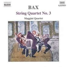 Arnold Bax (1883-1953): Streichquartett Nr.3, CD