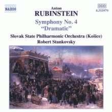"""Anton Rubinstein (1829-1894): Symphonie Nr.4 """"Dramatische"""", CD"""