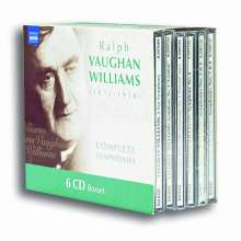 Ralph Vaughan Williams (1872-1958): Symphonien Nr.1-9, 6 CDs