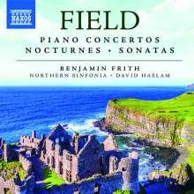 John Field (1782-1837): Klavierkonzerte / Nocturnes / Klaviersonaten, 6 CDs