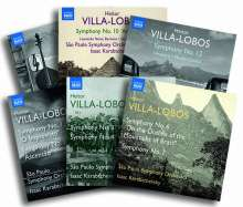 Heitor Villa-Lobos (1887-1959): Symphonien Nr.1-4,6-12 (Exklusiv für jpc), 6 CDs