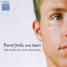 John Dowland (1562-1626): Burst forth,my tears - The Music of John Dowland, 2 CDs