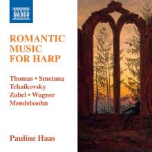 Pauline Haas - Romantic Music For Harp, CD
