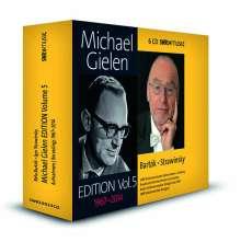 Michael Gielen - Edition Vol.5 (Bartok & Strawinsky), 6 CDs
