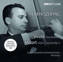 Henryk Szeryng - Vivaldi & Mozart, CD