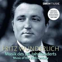Fritz Wunderlich - Musik des 20. Jahrhunderts, 3 CDs